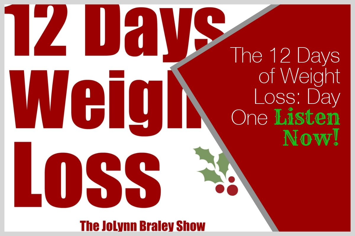 weight loss motivation the 12 days of weight loss day one free